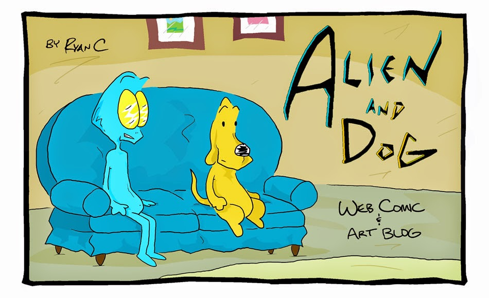 Alien and Dog