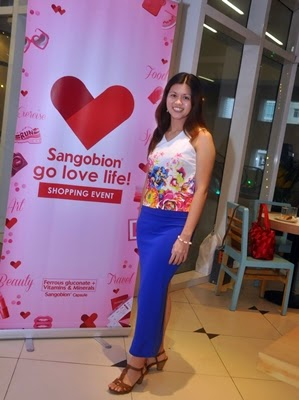 Sangobion, Go Love Life Shopping Event, SM Aura, Shine Bakery & Cafe