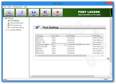 Protect Ports with Password | Port Locker