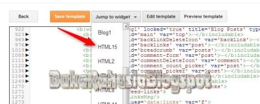widget pada editor