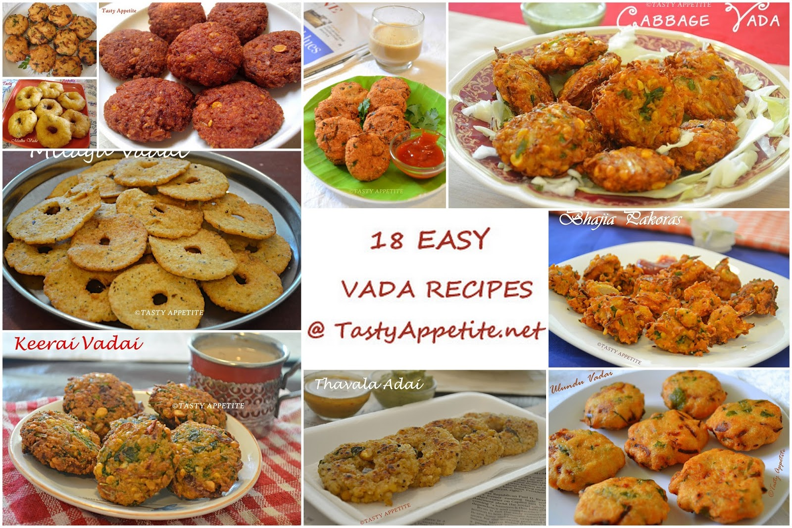 18 easy vada recipes south indian vadai recipes healthy snack recipes forumfinder Gallery