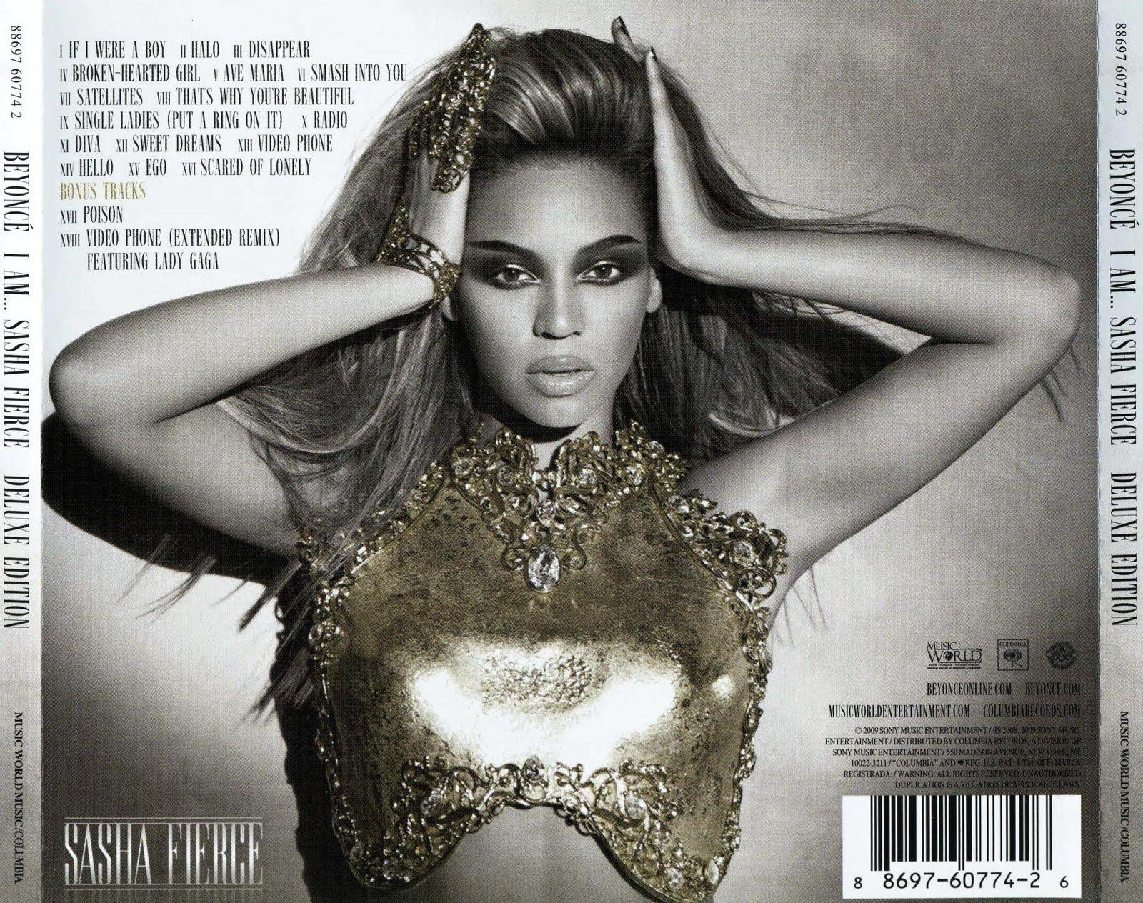 beyonce i am sasha fierce deluxe edition album cover