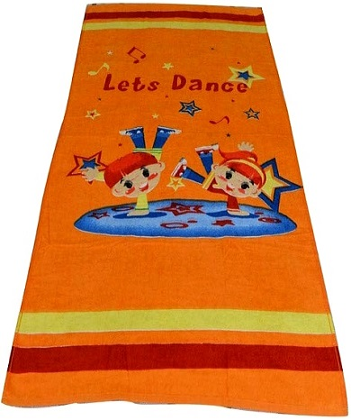 Bombay Dyeing Soft & Cosy Lets Dance Kids Towel