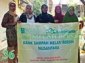 Bank Sampah Melati Bersih Nusantara Ragajaya Bojong Gede Kabupaten Bogor