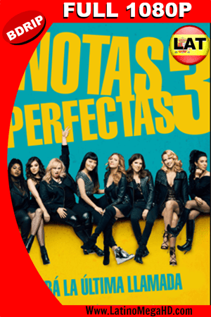 Notas perfectas 3 (2017) Latino Full HD BDRIP 1080p ()