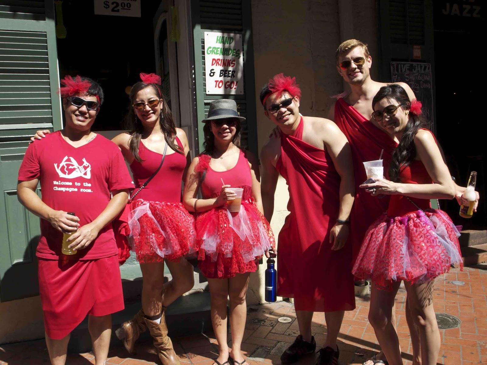 Red dress run history