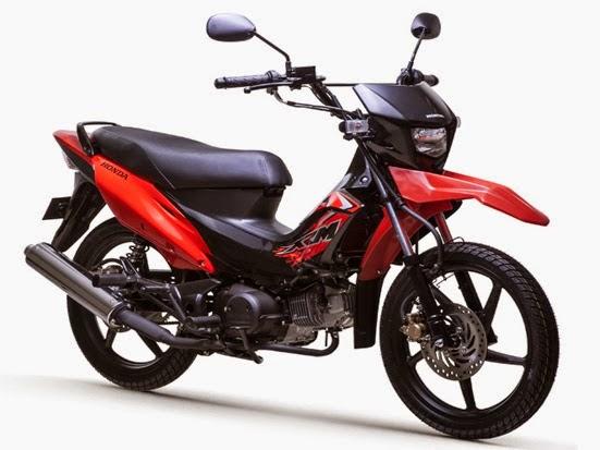 Honda XRM125 Motard Fighting Red