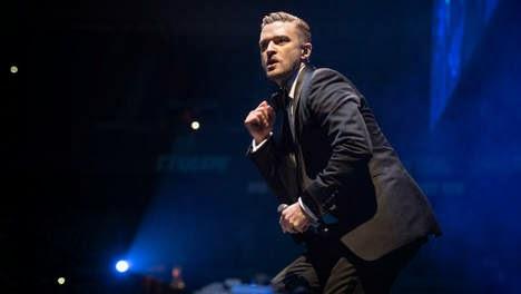Justin Timberlake in Antwerp
