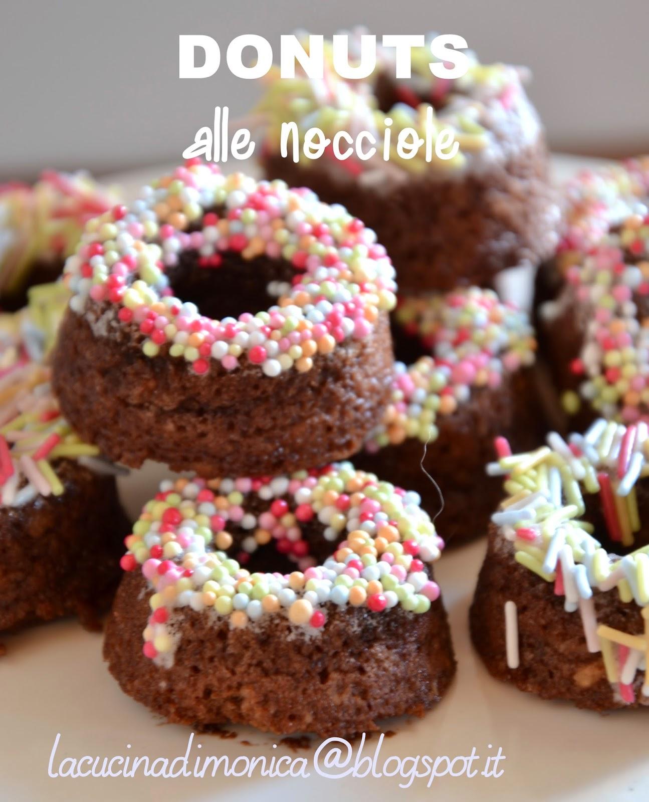 donuts alle nocciole - ricetta di luca montersino _