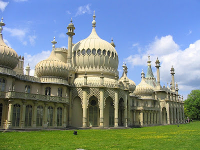 Brighton Pavilion - the Steyne front
