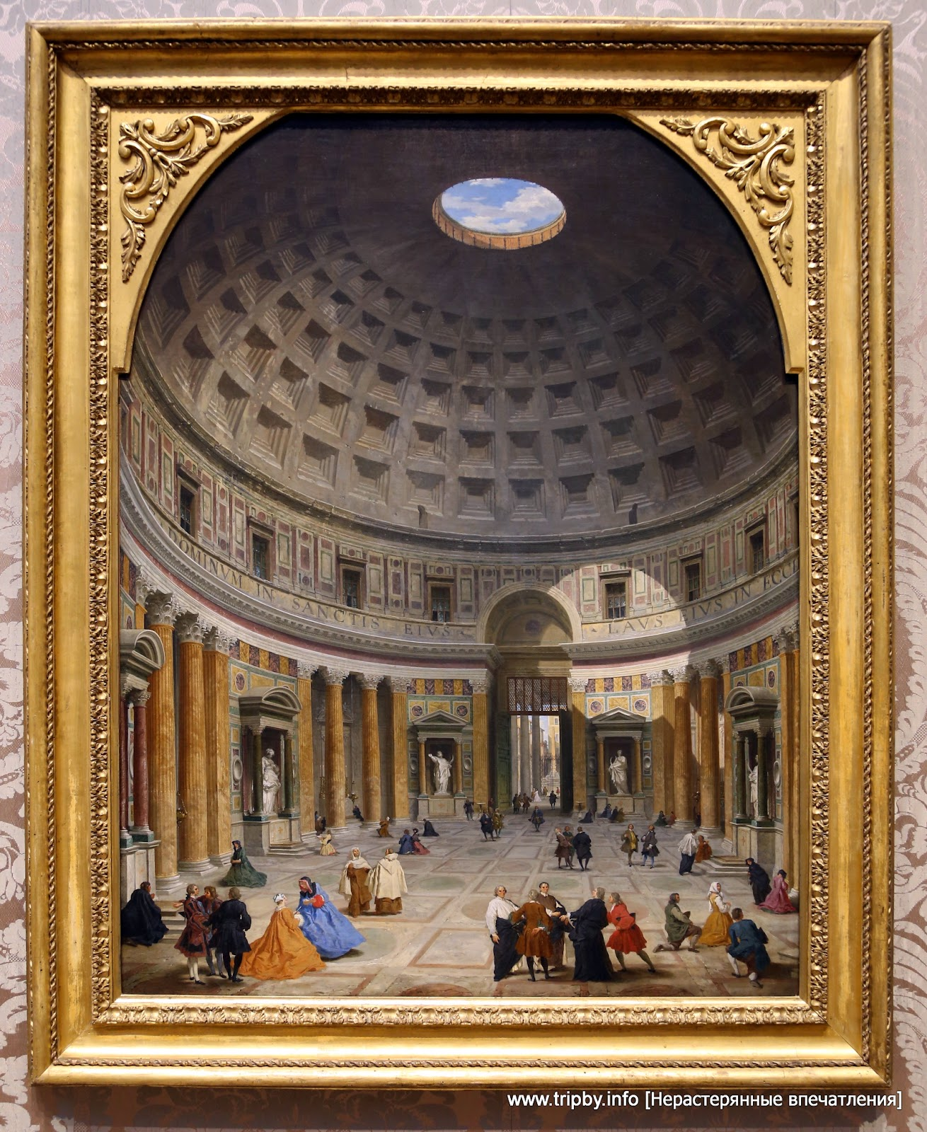 Panini, Giovanni Paolo | Roman, 1691 - 1765 | Interior of the Pantheon, Rome c. 1734