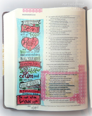 Our Daily Bread Designs Stamp: Your Heart