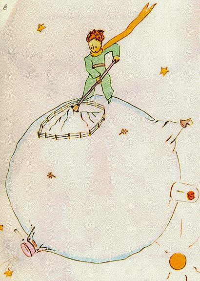 "Imagen: ""El Principito"" - Saint Exupery"