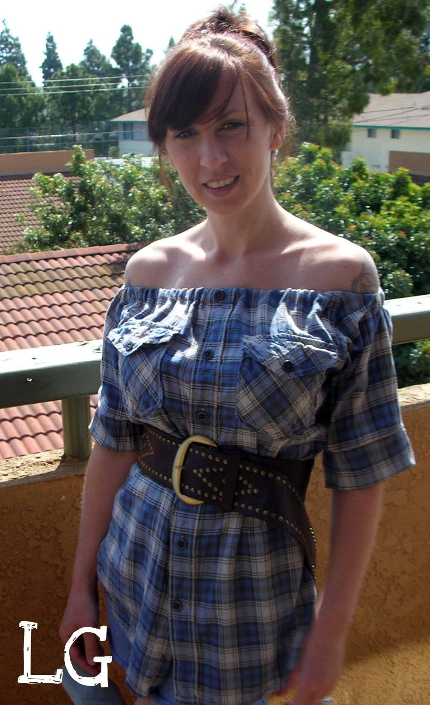 Как делать платье из рубашки 5