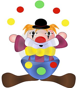 CLOWN + CIRCUS Crafts