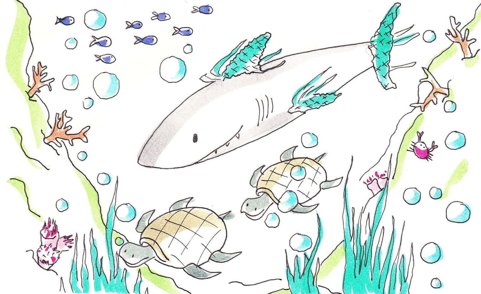 El tiburón que aprendió a nadar | Cuentos infantiles cortos