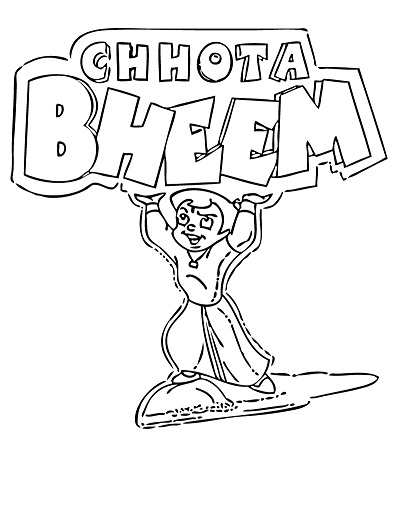 chota bheem team coloring pages - photo#12