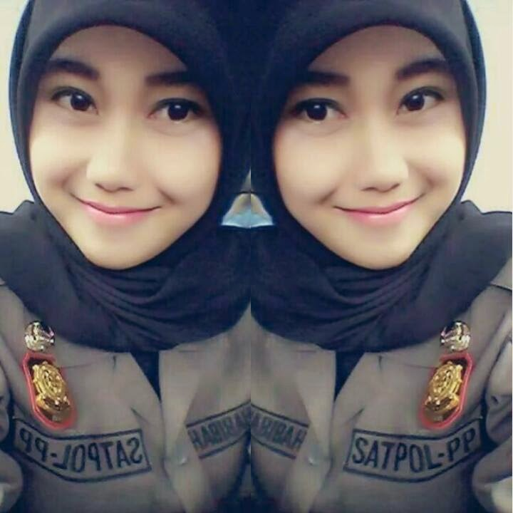 Nurul Habibah Gadis Cantik Satpol PP Lagi