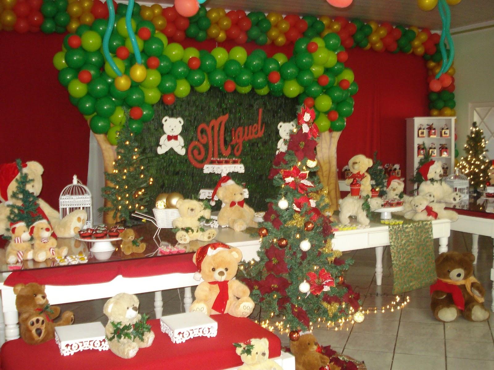 decoracao festa natal:Decoracao De Natal Para Festa Aniversario