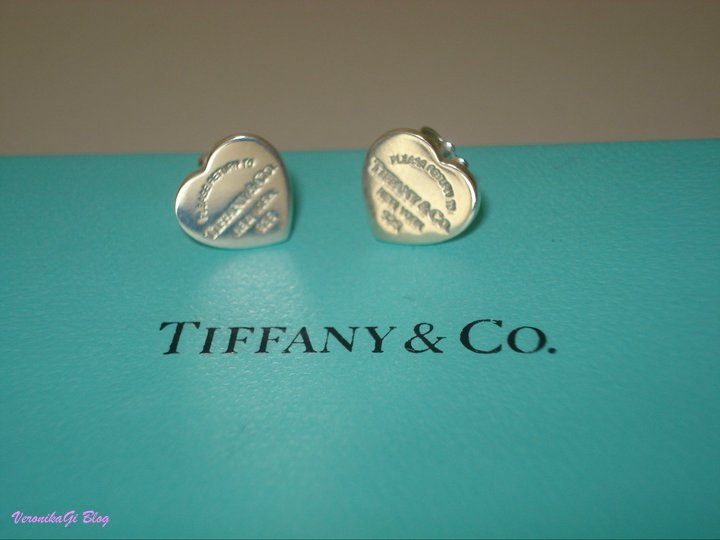 Tiffany Orecchini Cuore Misure