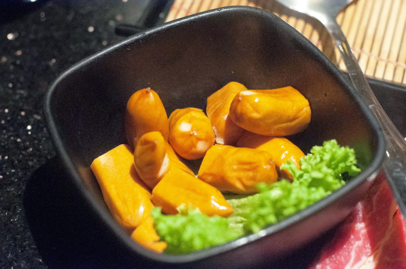 Crunchy Chicken Sausage (Beauty in The Pot)