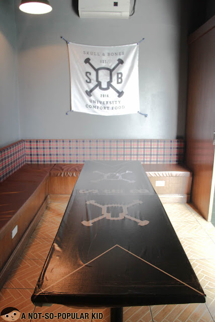 Skull and Bones Beer Pong Table - UP Town