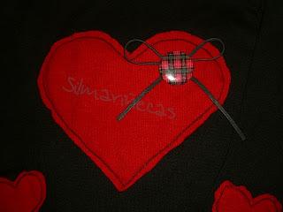 Cómo poner un corazón de camiseta a un jersey-