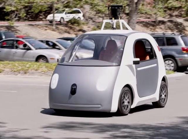 רכב של גוגל שנוסע מעצמו
