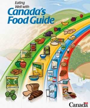 how to get canada food guide healthy plate