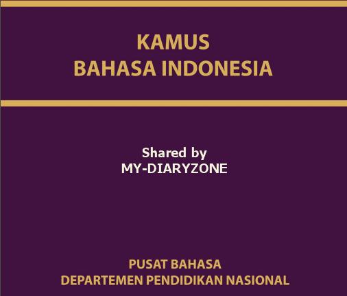 kamus besar lengkap bahasa indonesia