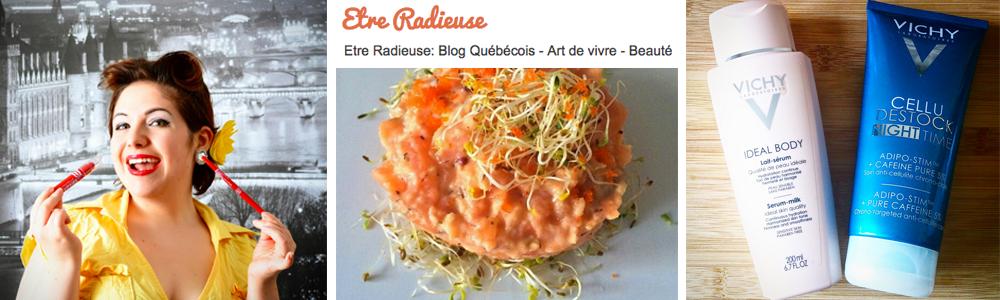 blog Être Radieuse