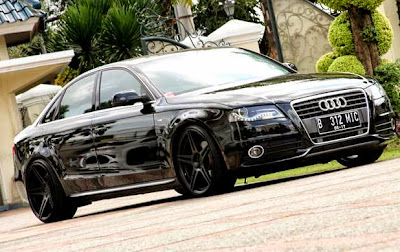 Modification Audi A4 2012