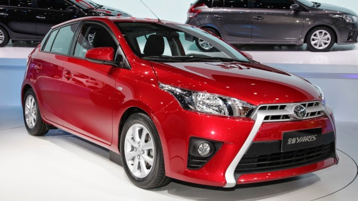 all new toyota yaris 2014