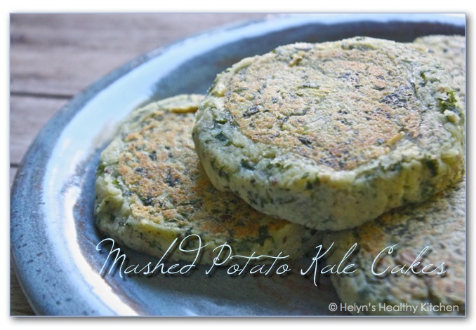 Helyn's Healthy Kitchen: Mashed Potato Kale Cakes + a secret ...