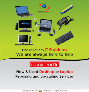 virtualigent, IT Problems, Desktop or Laptop Repairing, Upgrade Services