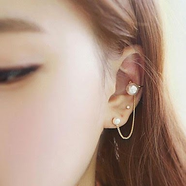 Kesederhanaan Anting Mutiara Shell