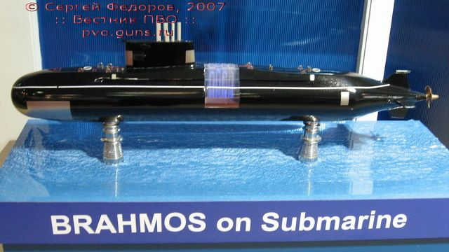 البحرية المصرية....السيناريو الشرقي!!! Brahmos+Submarine