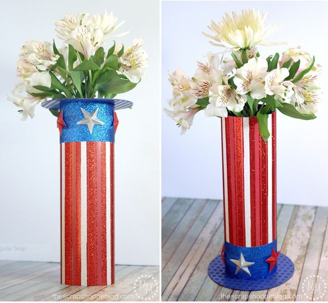 Uncle Sam's Hat Vase