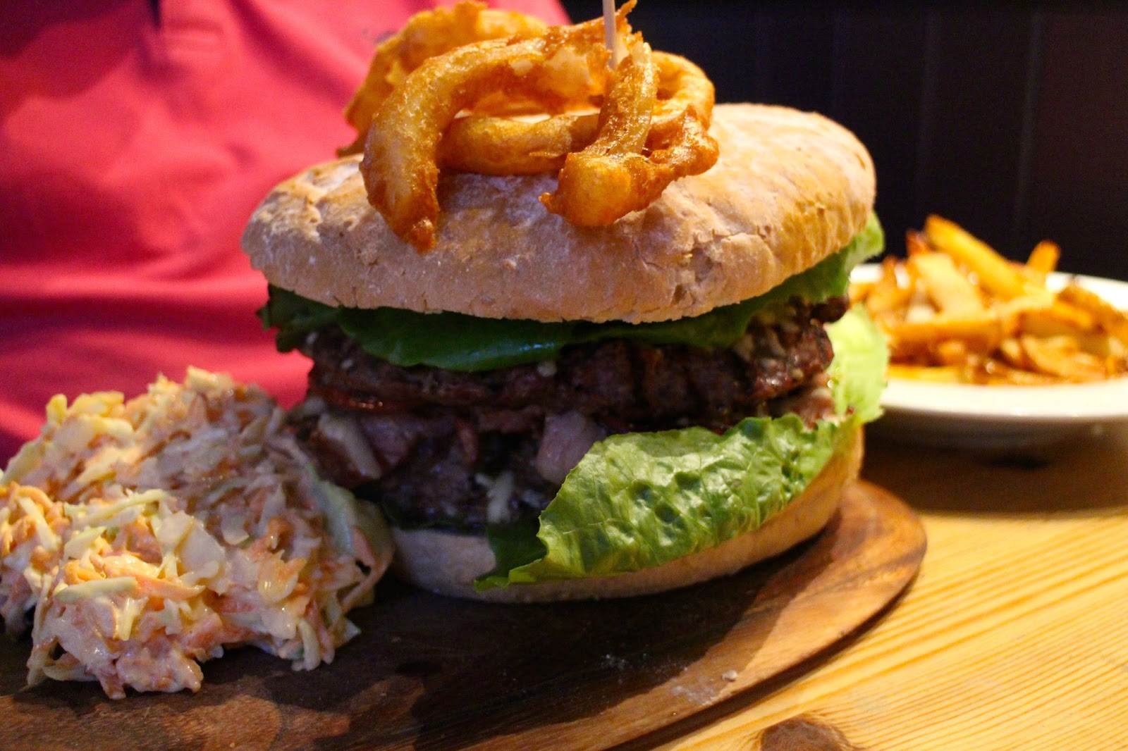 the therminator burger