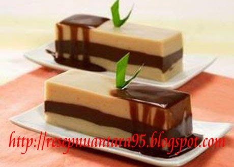Resep Kue Basah | Resep Membuat Agar Agar | Puding Lapis Coklat Istimewa