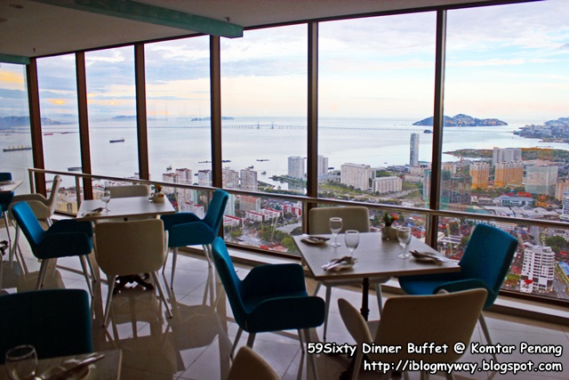 59Sixty Dinner Buffet Komtar Penang