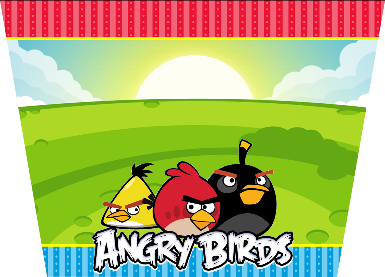 Angry Birds Birthday Party: Free Printable Invitations and Candy ...