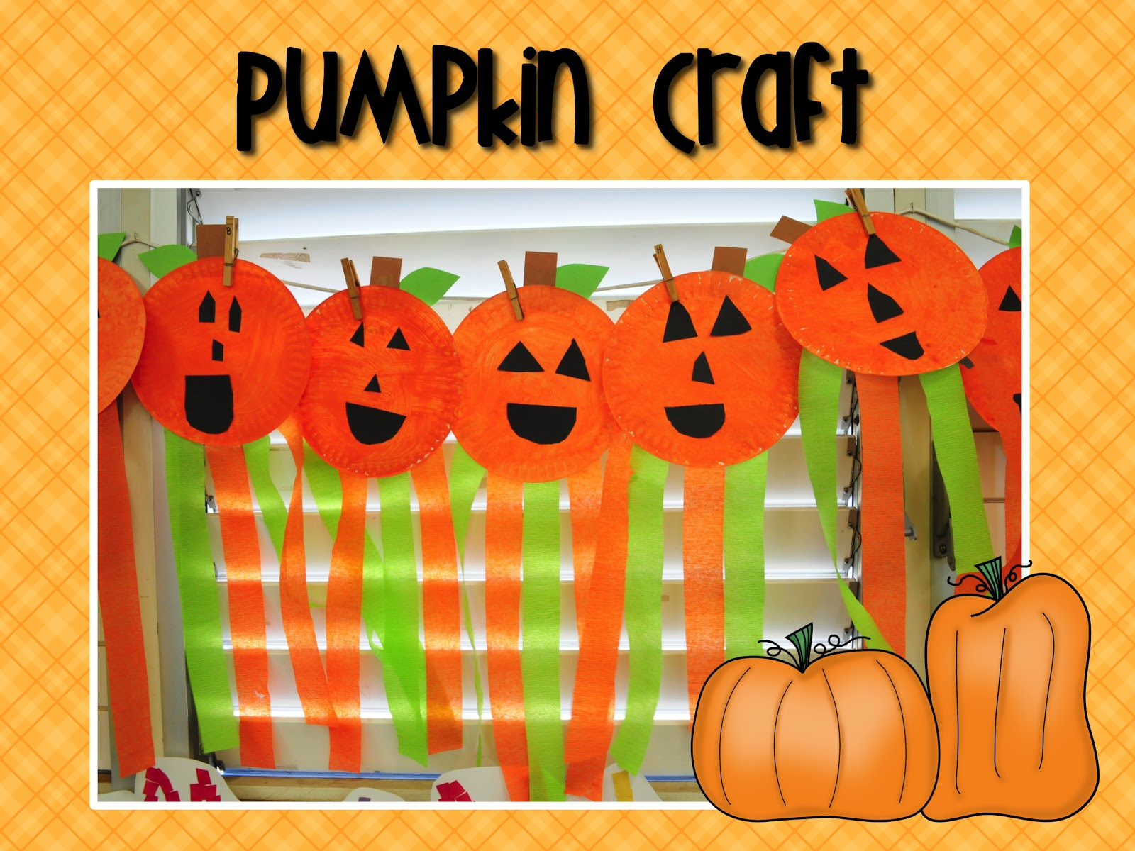 It's just a graphic of Persnickety Pumpkin Craft Preschool
