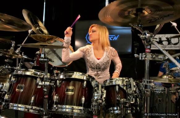 Hannah Ford: Improv Drum Solo 2011