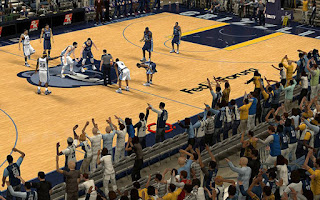 NBA 2K13 Memphis Grizzlies Crowd Fix