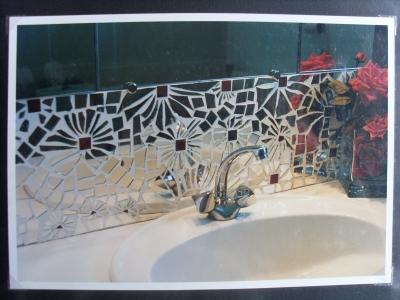 Espejarte ambientacion con espejos ideas for Espejos para banos con guardas
