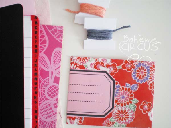 giveaway+mini+carnet+copie Stationery Giveaway at Boheme Circus