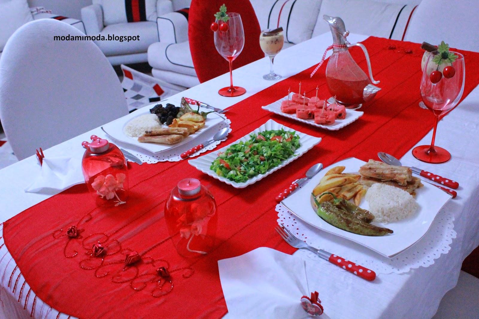 yıldönümü yemeği