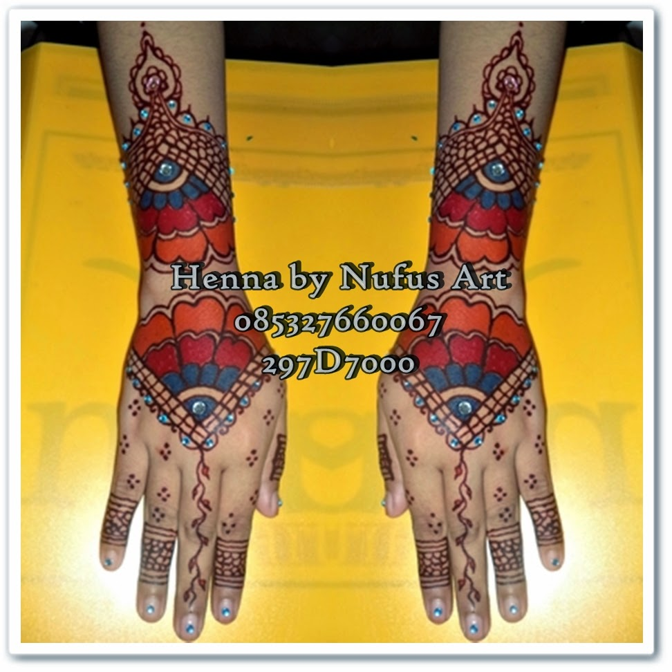 Henna Pengantin Rainbow By Nufus Art Henna Artist Jakarta