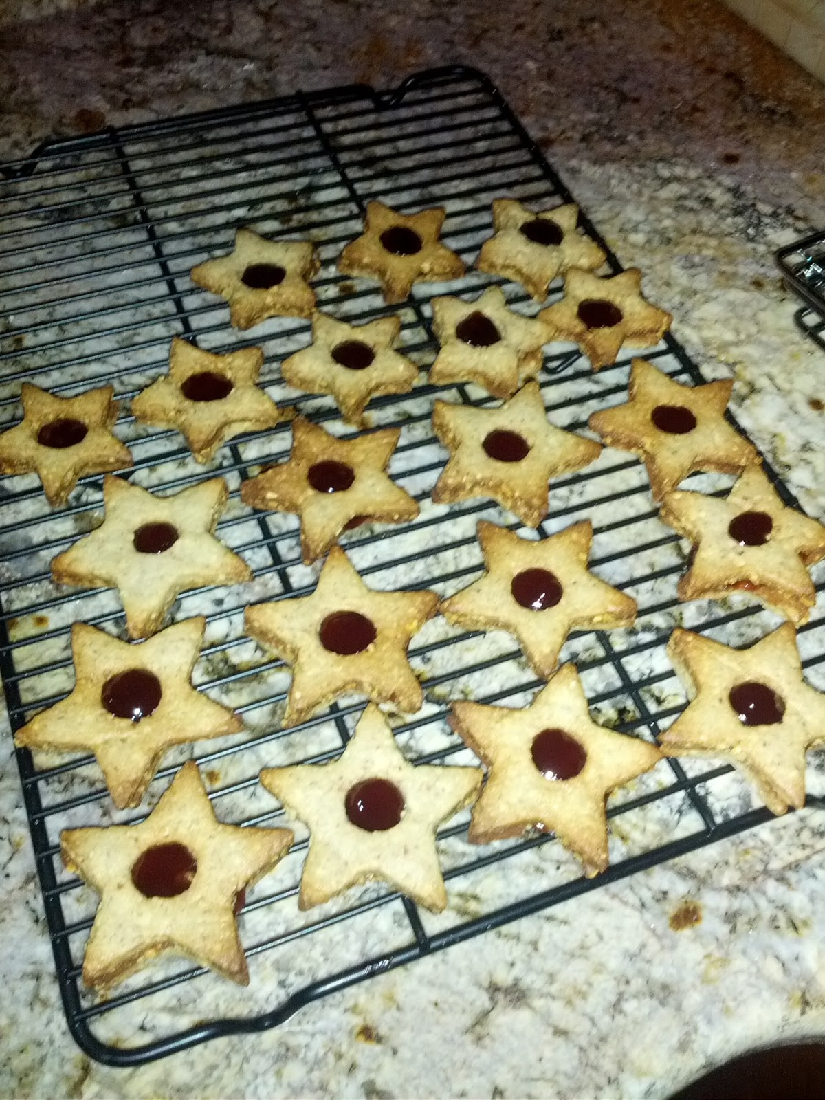 Bonnie Cooks By The Book: Linzer Sables